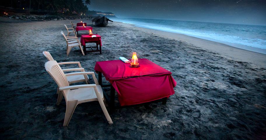 Antigua Hochzeitsreise Angebote Candle Light Dinner am Strand