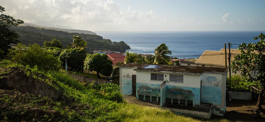 Dominica Reisetipps Aussicht Natur Wanderung