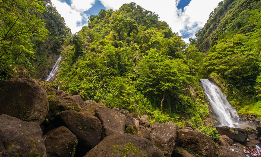 Dominica Natur Reisen Wasserfälle Reisebüro Schweiz