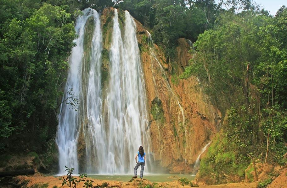 El Limon Wasserfall DomRep Reisen mit Kindern