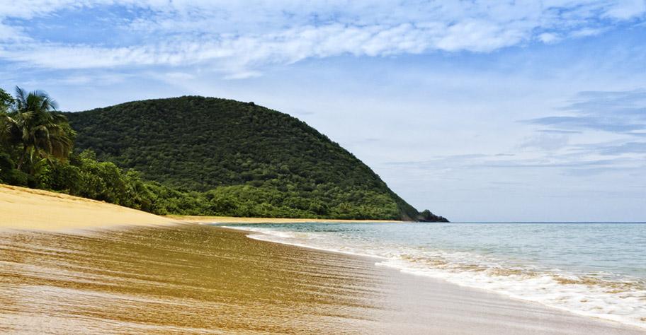 Guadeloupe naturerlebnis strand urwald dschungel