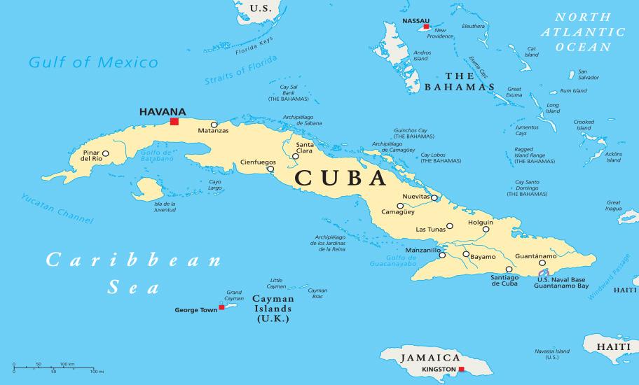 Kuba Landkarte Reisetipps Schweiz