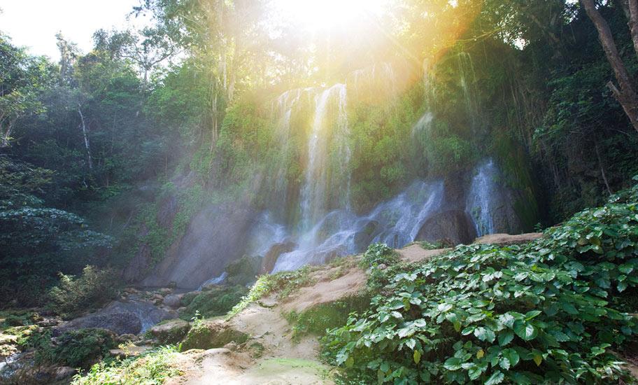 Kuba Natur Tipp Wasserfall