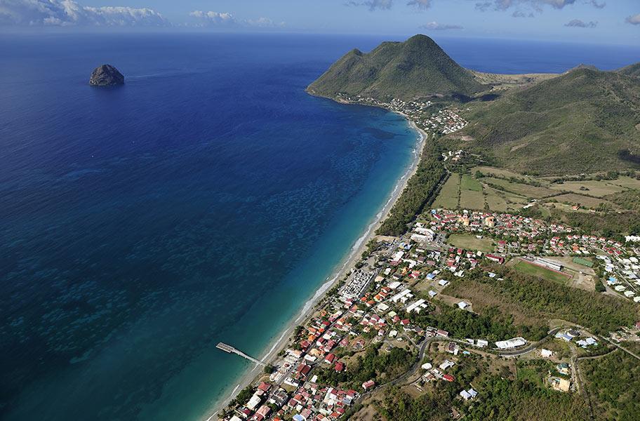 Martinique Karibik Anreise Flug Flughafen