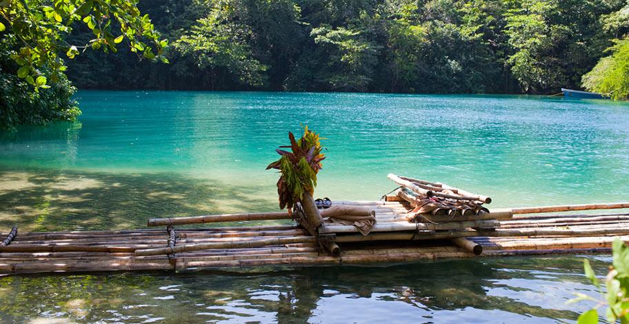 Naturreisen Jamaika Rafting Blue Lagoon