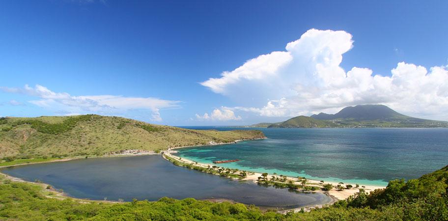 Strand St.kitts Nevis Badeferien Strandurlaub