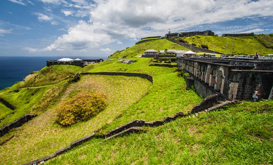 St. Kitts Badeurlaub Ausflüge Natur Grün