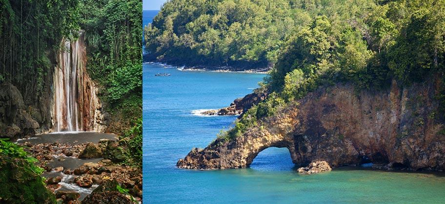 St. Lucia Wasserfall Wanderung Wandertipps Schweiz Reisebüro