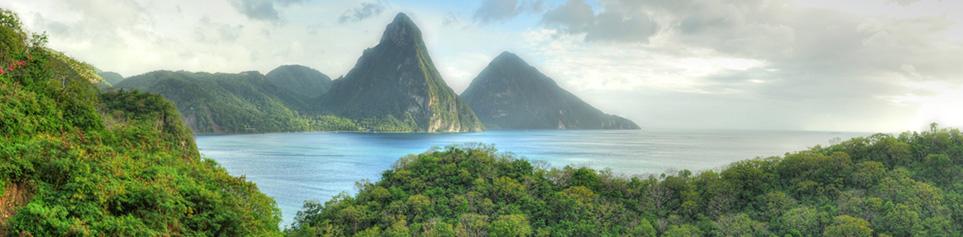 St. Lucia Natur Reisen