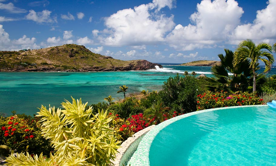St. Barth Honeymoon Hotels Paradies