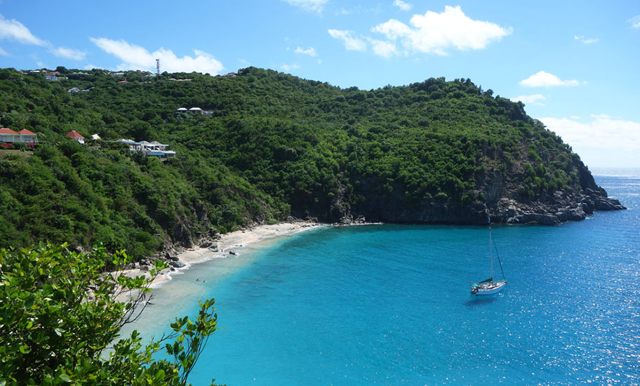 St. Barths Honeymoon Flitterwochen Strand Romantisch